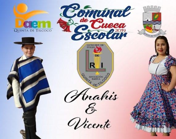 Ganadores Campeonato Comunal de Cueca Escolar 2019